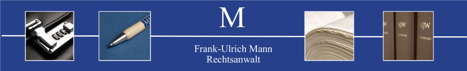 Soziet�t Mann & M�ller | Rechtsanw�lte - Header-Grafik
